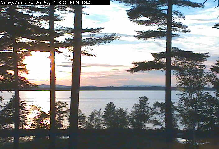 Sebago Lake Cam, Sebago Lake, Maine