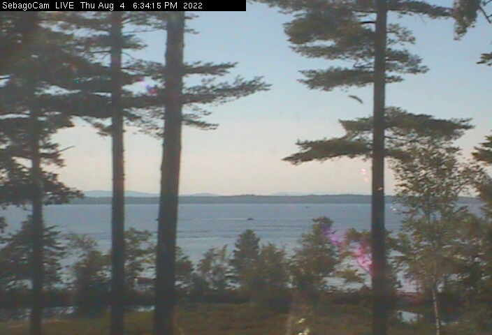 Sebago Lake Webcam